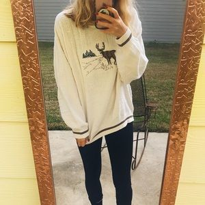 Chunky Travelers Knit Sweater